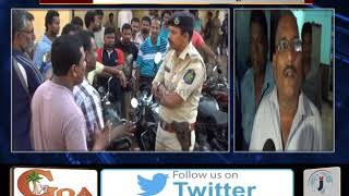 Fight Erupts between Kadamba And Private Bus Driver On Ponda - Panjim Route