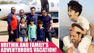 #BTownBagPackers: Hrithik and Family's adventurous vacation!