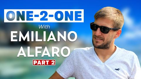 Exclusive Interview: Emiliano Alfaro says football is not war