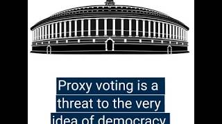 Proxy voting undermines the very principles of democracy. Here's why you should oppose it.