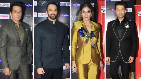 Karan Johar, Raveena Tandon, Rekha At Society Achievers Awards 2018
