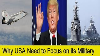 Donald Trump Plans For  US Military: China,Russia,North Korea Worried
