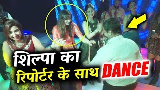 Shilpa Shinde CRAZY DANCE With Reporter At Party | Shilpa Shinde Bigg Boss WINNER
