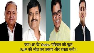 Mulayam Singh Yadav and Shivpal Yadav Supporter Played crucial in BJP win in Uttar Pradesh (UP)