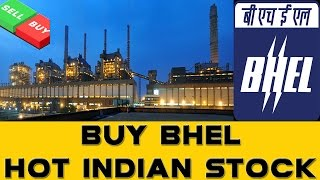 Buy BHEL || Hot Indian Stock || D-Street Sensex BSE
