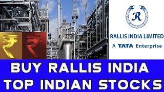 Buy Rallis India || Indian Midcap Stocks || Top Indian Stocks| Sensex  Nifty