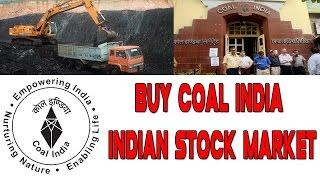Buy Coal India || Top Largecap Stocks|| Indian Stock Market || Sensex Nifty