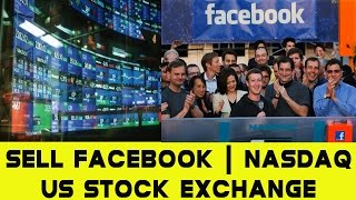 Sell Facebook || Nasdaq || US stock Exchange