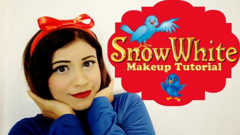 Srilankan Snow White Makeup Tutorial (SINHALA)