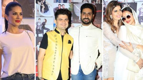 Bollywood Celebs At Launch Of Dabboo Ratnani Calendar 2018 | Sunny Leone, Abhishek Bachchan, Rekha