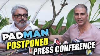 I Will Be Grateful To Akshay For A Lifetime, Says Sanjay Leela Bhansali | Press Conference