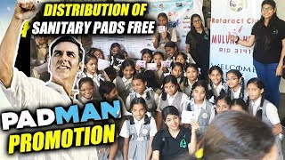 Padman Promotion: Rotaract Club Of Mulund Hill Distributes SANITARY PADS In Municipality School