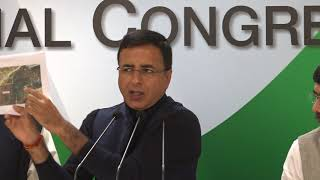 AICC Press Briefing by Randeep Singh Surjewala on Doklam at Congress HQ, January 18, 2018