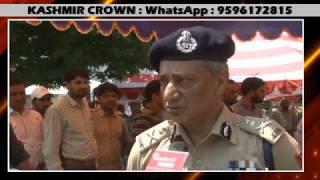 Kashmir Crown Speaks To DGP J&K