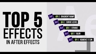 AFTER EFFECT TUTORIALS (TOP 5 EFFECTS) in Punjabi