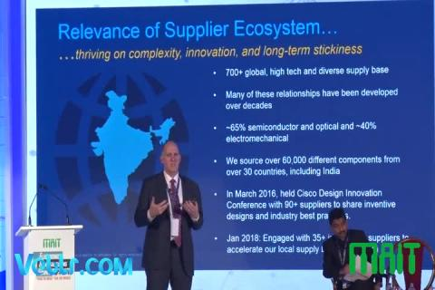 Mr. Jeff Pumel (Global Chief Procurement Officer, CISCO) Speech at Electronics Manufacturing Summit 2018