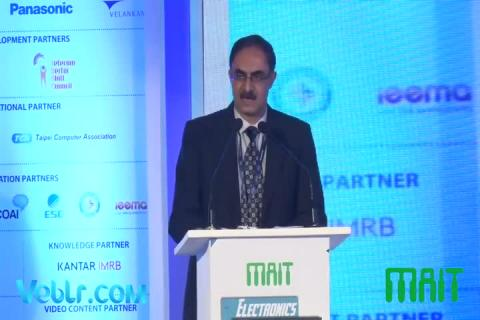 Mr. Ajay Prakash Sawhney (Secretary Ministry Of Electronic and IT) Speech at Electronics Manufacturing Summit 2018
