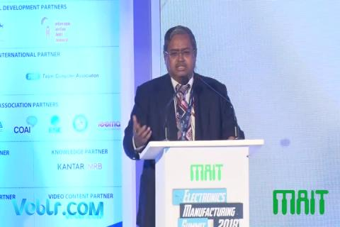 Shri N Sivasailam (Special Secretary, DoT) Speech at Electronics Manufacturing Summit 2018