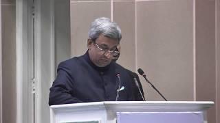 Pankaj Patel delivering Welcome Address at FICCI's 90th AGM