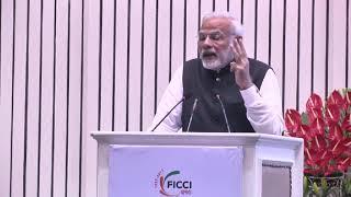 Narendra Modi at FICCI's AGM