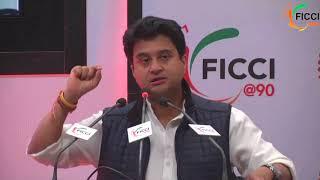 Jyotiraditya Scindia at FICCI AGM