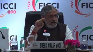Sushil Kumar Modi during the session on GST during our AGM