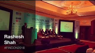 Rashesh Shah at #FINCON2018