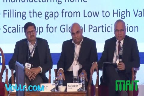 3rd Panel Discussion at Electronics Manufacturing Summit 2018 Organised By MAIT