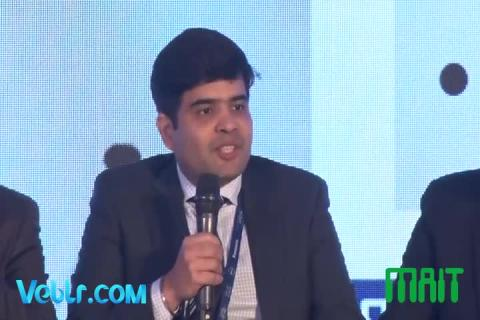 Shri Aman Sethi (Director API, Supply Chain, DELL) at Electronics Manufacturing Summit 2018 Organised By MAIT