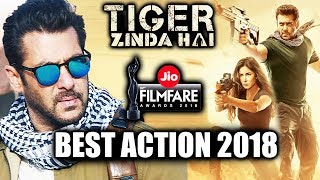Tiger Zinda Hai GETS BEST ACTION 2018 Award At Filmfare Award 2018 | Salman Khan