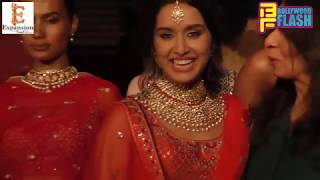 Gorgeous Shraddha Kapoor Walks The Ramp With Anita At Wedding Junction Show