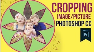 Cropping an Image in Shape using Photoshop CC