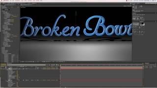 3d Text Effects Using Illustrator and After Effect