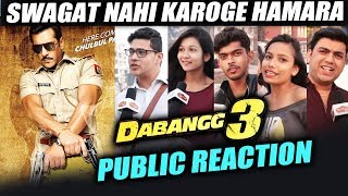 Salman Khan's Dabangg 3 - Public Reaction - Chulbul Pandey Returns