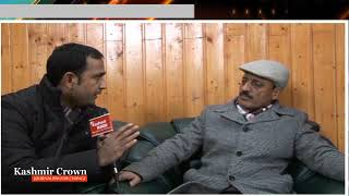Ab Haq Khan Minister Rural Development Speaks To Kashmir Crown Editor in Chief Shahid Imran