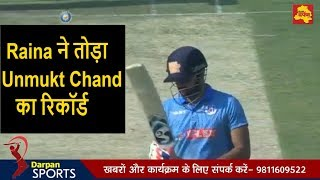 Full Video - Suresh Raina hits 59 ball 126 run in Syed Mushtaq Ali T20 trophy   Unmukt Chand