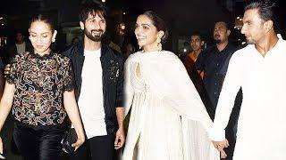 Padmaavat Screening   Ranveer Singh, Deepika Padukone, Shahid Kapoor, Mira Rajput