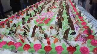 Celebration Jashan Eid Milad-un-Nabi, in Mahim 200 Kg Cake Fatihah   video  - id 3d1c909b7937 - Veblr Mobile