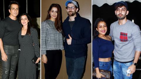 Neil Nitin Mukesh, Neha Kakkar, Sonu Sood, Himansh Kohli At Screening Of Movie Padmaavat At Juhu PVR
