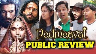 Padmaavat PUBLIC REVIEW | First Day First Show | Deepika Padukone, Ranveer Singh, Shahid Kapoor