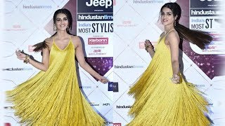 Kriti Sanon At HT India's Most Stylish Awards 2018 Red Carpet | HT Style Awards 2018