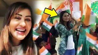 Shilpa Shinde And Hina Khan Celebrates Republic Day 2018