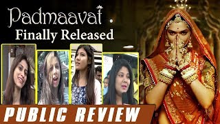 Padmavati (Padmavat) Movie Public REVIEW - First Day First Show Review -Ranveer, Deepika, Shahid