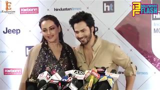Varun Dhawan & Sonakshi Sinha FUNNY Interview | HT Most Stylish Of The Year 2018