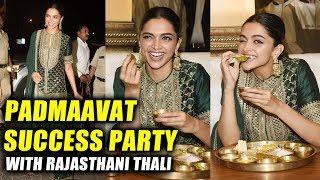Deepika Padukone Celebrates Padmaavat Success With Rajasthani Thali At A Restaurant