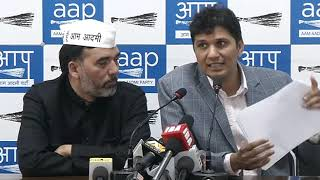 Aap Chief spokesperson Saurabh Bhardawaj expose the role of successive Union Urban Development