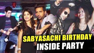 Sabyasachi Birthday NIGHT PARTY   INSIDE VIDEO   Bigg Boss 11 Party   Akash, Puneesh, Bandgi