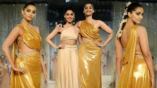 Sonam Kapoor Show Stopper For Pernia Qureshi Frist Standalone Fashion Show