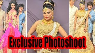 Rakhi Sawant Photoshoot for Designer Rohit Verma
