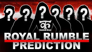 WWE Royal Rumble 2018 Highlights Result Predictions | Royal Rumble 2018 Winner Predictions